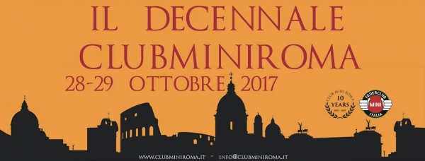 Il Decennale - Club MINI Roma